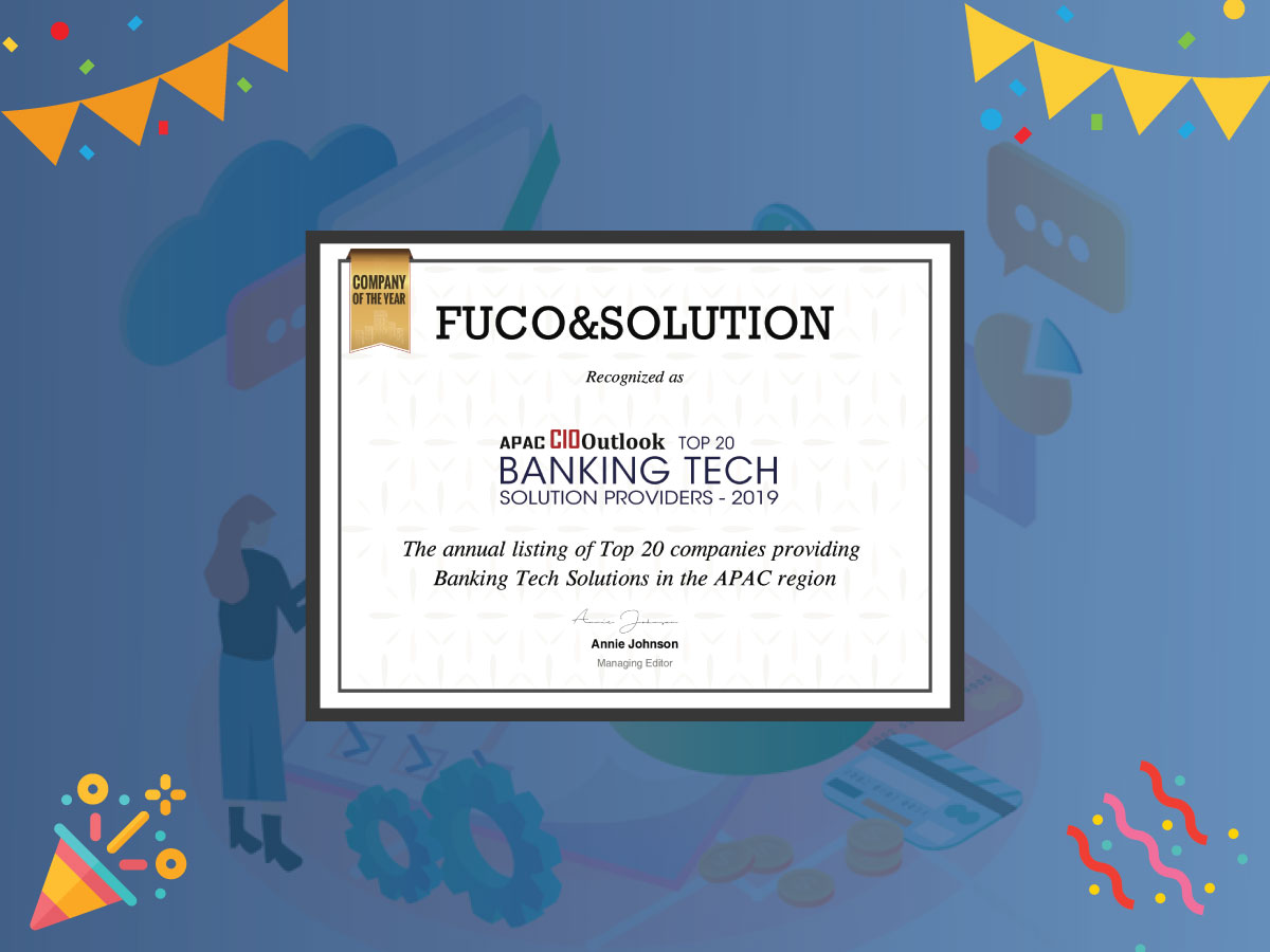 Top 20 Banking Tech Solution Providers – 2019